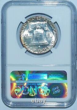 1950 Ngc Pr64 Proof Strike Franklin Half Dollar Great Color