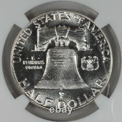 1950 Preuve Franklin Demi-dollar 50c Ngc Certifié Pf Pr 65 (004)