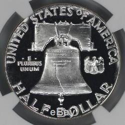 1950 Proof Franklin Half Dollar 50c Ngc Certified Pr Pf 68 Cam Cameo (003)