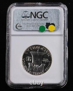 1951 50c Ben Franklin Demi-dollar Ngc Pf67 Preuve 67