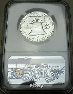1951 Franklin Pf66 Argent Demi-dollar Ngc Cac Proof 66