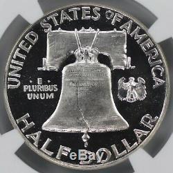 1951 Preuve Franklin Half Dollar 50c Ngc & Cac Cert Pr Pf 67 Ultra Cameo (003)
