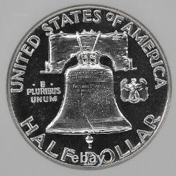 1952 Preuve Franklin Demi-dollar 50c Ngc Certifié Pf 66 (015)