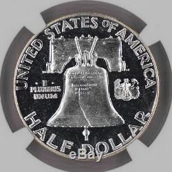 1952 Preuve Franklin Half Dollar 50c Ngc Certifié Pf 67 Unc Cameo (018)