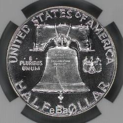 1952 Preuve Franklin Half Dollar 50c Ngc Certifié Pr Pf 68 (006)