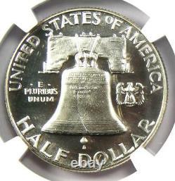 1952 Proof Franklin Demi-dollar 50c Ngc Pr67 Cameo Cac (pf67) 2 850 $ Valeur