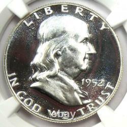 1952 Proof Franklin Half Dollar 50c Ngc Pr67 Cameo Cac (pf67) 2 850 $ Valeur