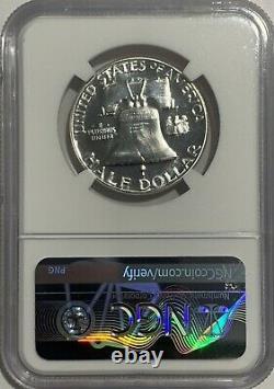1953 P Ngc Pf65 Star Proof Ben Franklin Half Dollar 50 C 90% Silver Franklin Lb