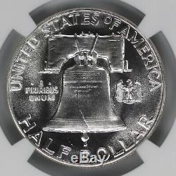 1953 Preuve Franklin Half Dollar 50c Ngc Certifié Pfpr 67 (003)