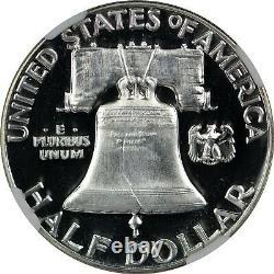 1953 Preuve Franklin Half Dollar Ngc Pf66+ Pr66+ Très Frosty Bell