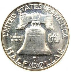 1954 Proof Franklin Half Dollar 50c Coin Ngc Pr68 (pf68) 850 $ Valeur