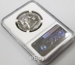 1955 Dollar Half Proof Franklin Argent Certifié Pf 67 Par Ngc