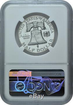 1956 1 50c Silver Proof Franklin Half Dollar Ngc Pf 69