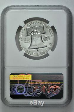 1956 2 50c Silver Proof Franklin Half Dollar Ngc Pf 69