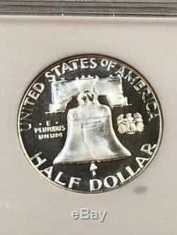 1956 Preuve Franklin Hald Type Dollar 2 Ngc Pf 68 Ultra Cameo Dcam