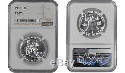 1956 Ty2 1963 Preuve Franklin Half Dollar Ngc Certifié Pr Pf 67 8 Slab Lot