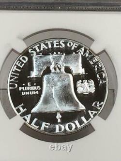 1956 Type 2 Franklin Proof Half Dollar Ngc Pf69 Cameo Star Looks Ultra Dcam Pr