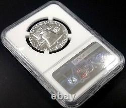 1957 Preuve Franklin Argent Demi-dollar Classé Pf 69 Par Ngc