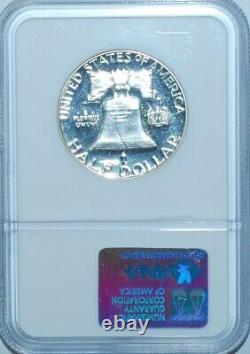 1958 Ngc Pr67cam Cameo Franklin Demi-dollar