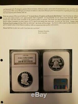 1958 Ngc Preuve Franklin Half Dollar Pr68 Ultra Cameo, Dcam, Cac