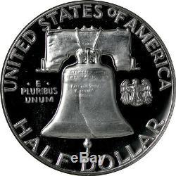 1959 Ngc Preuve Franklin Half Dollar Pr69 Cameo, Top Pop, Un Des One