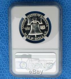 1960 Ngc 68 Preuve Étoile Franklin Argent Half Dollar, Gem Pf 68 Étoiles 50 Cent Coin