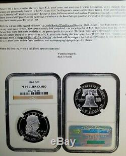 1961 Ngc Preuve Franklin Half Dollar Pr69 Ultra Cameo, Dcam