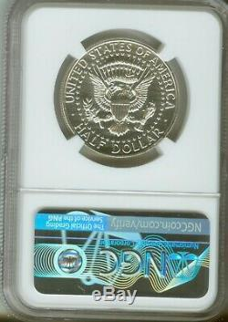 1964 50c Kennedy Half Dollar Proof Accent Cheveux Ngc Pf66 4916737-001