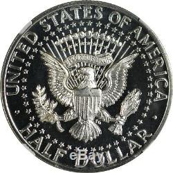 1964 Ngc Pr68 (star) Cam Accented Cheveux Kennedy Half Dollar So Close To Ucam