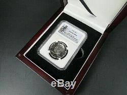 1964 P Argent Kennedy Half Dollar Ngc Pf 69 Cameo, Pop. = 654 Portrait De Voile