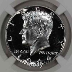 1964 Preuve Kennedy Demi-dollar 50c Accent Cheveux Ngc Certifié Pf 69 Preuve (021)