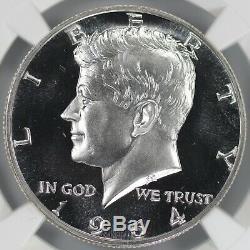 1964 Preuve Kennedy Half Dollar 50c Pfpr 68 Ultra Cameo (001)