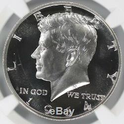 1964 Preuve Kennedy Half Dollar 50c Pfpr 68 Ultra Cameo (002)