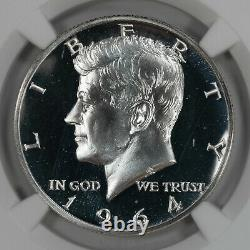 1964 Proof Kennedy Half Dollar 50c Accent Hair Ngc Certified Pf 67 Cameo (019)