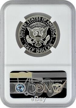 1966 Sms 50c Argent Kennedy Half Dollar Ngc Ms 69 Cameo