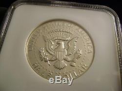 1970-s Kennedy 40% En Argent Épreuve Numismatique Demi-dollar, Ngc Pf69 Cameo (étoiles)