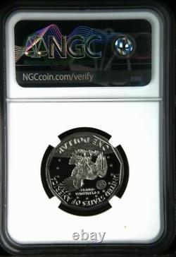 1981 S Type 2 Preuve Susan B. Anthony Dollar Ngc Pf 70 Ultra Cameo