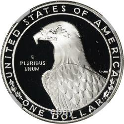 1983-s Us Olympic Commemorative Proof Silver Dollar Ngc Pf70 Ucam