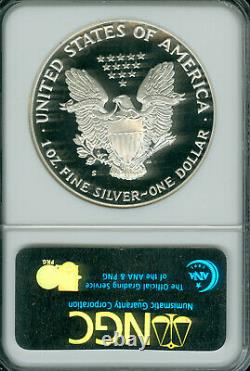1986-s Silver Eagle Ngc Pf70 Ucam Mac Uhcam Mac Finest Grade Mac Spotless