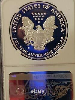1992 S Ngc Pf70 Ucam Certifié Américain Silver Eagle Dollar Proof Ultra Cameo