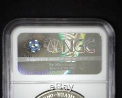 1993-p American Eagle Silver 1 $ Un Dollar. 999 Preuve Pf 70 Ultra Cameo Ngc