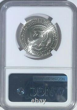 1998 S Ngc Sp69 Argent Kennedy Matte Proof Finish Half Dollar Jfk Coin Sign 50c