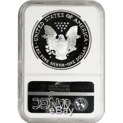 1999-p Ngc Pf70 Preuve American Silver Eagle One Dollar Coin