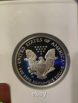 2004 2005 2006-w Ngc Pf69 Ucam 3 Étapes De Pièce Set Set American Silver Eagle Dollar