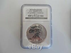 2006 P Américain Silver Eagle Proof Arrière Pf 70 Silver Dollar Set 20 Anniv