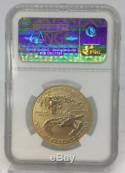 2006 W Gold Eagle 50 Dollar Coin Ngc Pf 70 20 Preuve Inverse Anniversaire