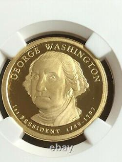 2007-16 Présidentielle Complète $1 Coin Set 39 Proof Coins Ngc Pf 70 Ultra Cameo