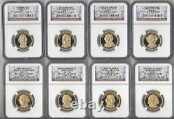 2007 S -thru-2016 S Full Set-all 39! Dollars Présidentiels Ngc Pf70-2 Ngc Boxes