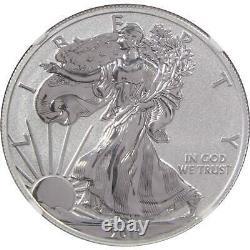 2011 P American Eagle Dollar Pf 70 Ngc 1 Oz. 999 Argent $1 Pièce Preuve Inversée