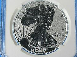 2011 W 25e Anniversaire Silver Eagle 5 Ensemble De Pièces Ngc Pf / Pf / Ms 70, Set Belle